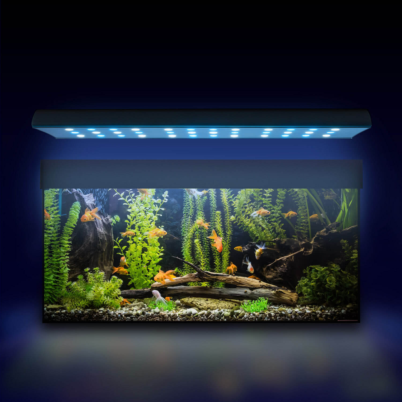 esmart germany nemo 1 led s wasser aquarium beleuchtung lampe aufsatz leuchte ebay. Black Bedroom Furniture Sets. Home Design Ideas