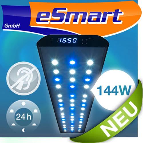 esmart germany nemo 3 led s wasser aquarium beleuchtung lampe aufsatz leuchte ebay. Black Bedroom Furniture Sets. Home Design Ideas